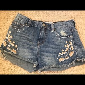 Free people shorts size 26
